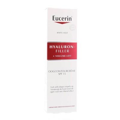 Eucerin Oogonctour creme hyaluron filler volume lift