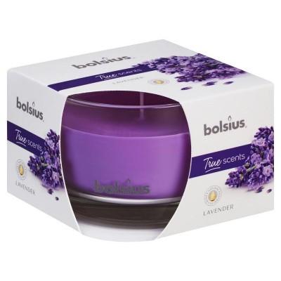 Bolsius Geurglas 63/90 true scents lavender