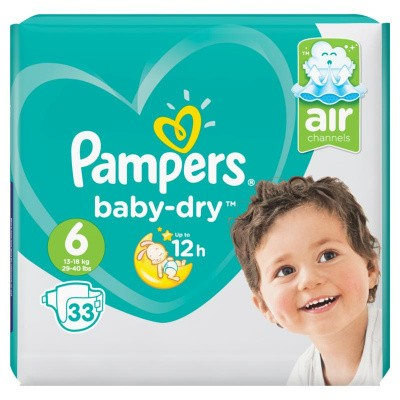 Pampers Baby dry S6 valuepack