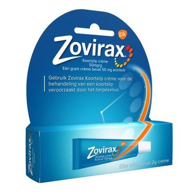 Zovirax tube