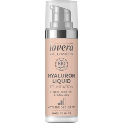 Lavera Liquid foundation hyaluron 00