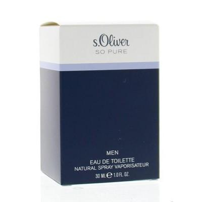S Oliver So pure men eau de toilette