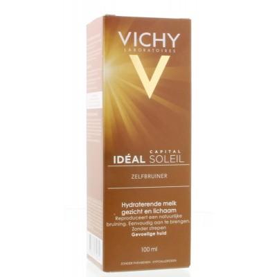 Vichy Capital soleil zelfbruiner melk gevoelige huid