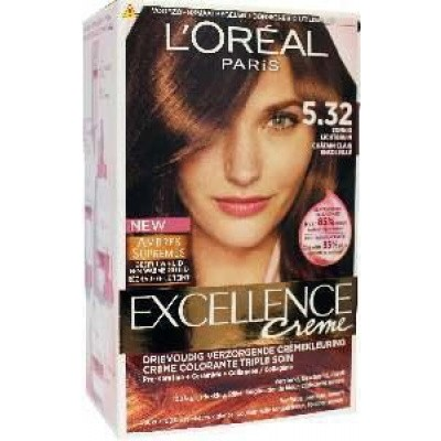 Loreal Excellence 5.32 sol brown zonnig lichtbruin