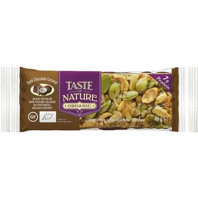 Taste Of Nature Dark chocolate coconut