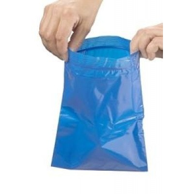 Heka Bluebag stoma afvalzag grip