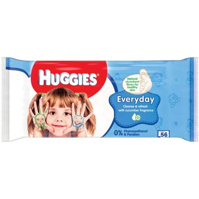 Huggies Wipes every day