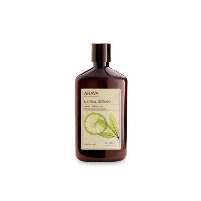 Ahava Mineral botanical cream wash lemon & sage