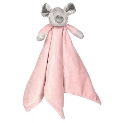 Teddykompaniet Floppy knuffeldoek rozekleur