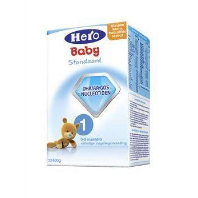 Hero 1 Zuigelingenvoeding standaard 400 gram