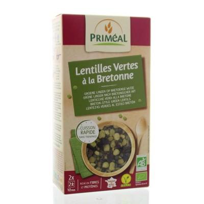 Primeal Peulvruchten groene linzen bretonse stijl