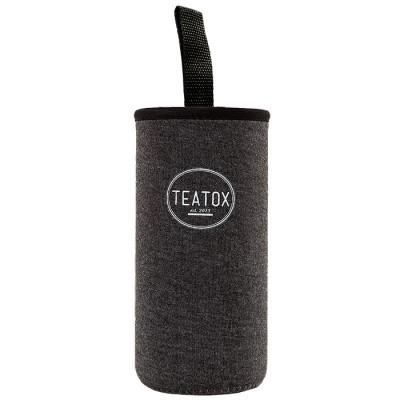 Teatox Bio Thee Thermofles warmhouder donker grijs