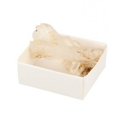 Ruben Robijn Doosje bergkristal/lemurisch kristal/Fadenkwarts