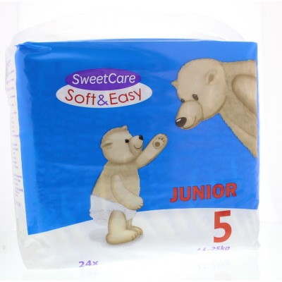 Sweetcare Luiers soft & easy junior nr 5 11-25kg