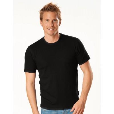 Best4body Verbandshirt zwart korte mouw XXXL