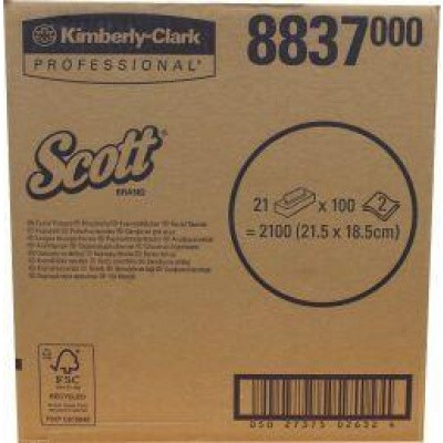 Kimberly Clark Tissues 21 x 100 stuks