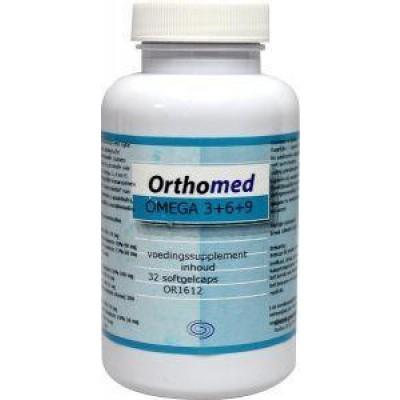 Orthomed Omega 3+6+9 formule
