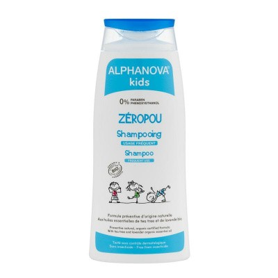 Alphanova Kids Bio zeropou shampoo preventie hoofdluis