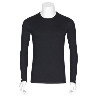 Best4body Verbandshirt zwart M/V lange mouw XXXL