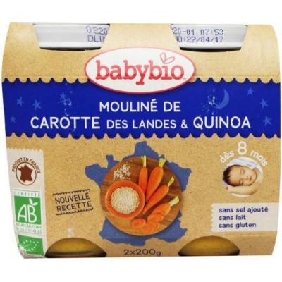 Babybio Groenten quinoa 200 gram