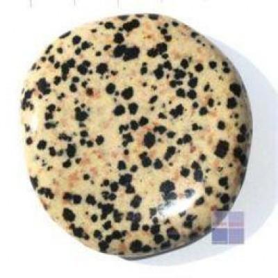 Steengoed Platte stenen jaspis dalmatier