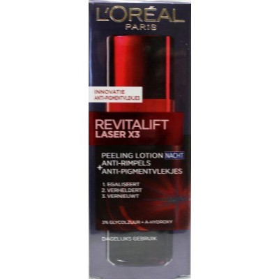 Loreal Dermo expertise revitalift laser night peeling