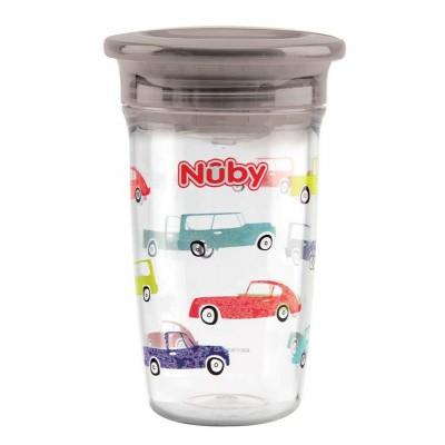 Nuby Wonder cup 300 ml grijs 6 maanden+