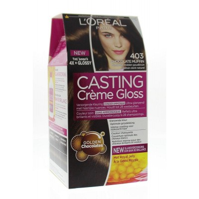 Loreal Casting creme gloss 403 Chocolate muffin