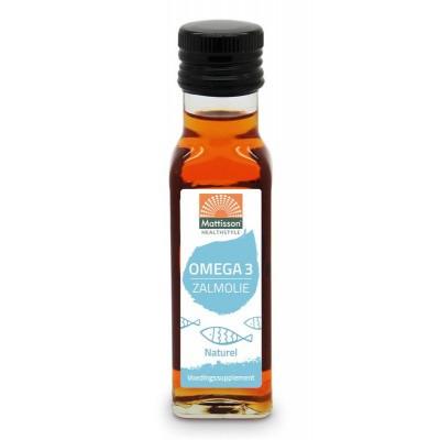 Mattisson Omega-3 zalmolie naturel