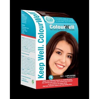 Colourwell 100% natuurlijke haarkleur mahonie