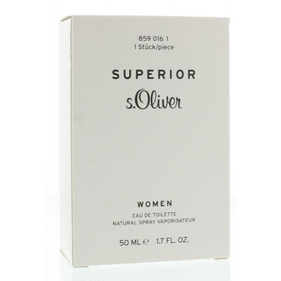 S Oliver Woman superior eau de toilette spray