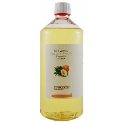 Ginkel's Massage & body oil pineapple & coconut