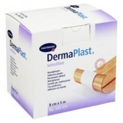Dermaplast Sensitive wondpleister 5 m x 8 cm