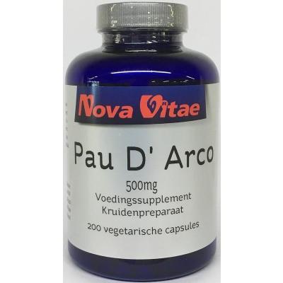 Nova Vitae Pau d arco 500 mg extract 5:1