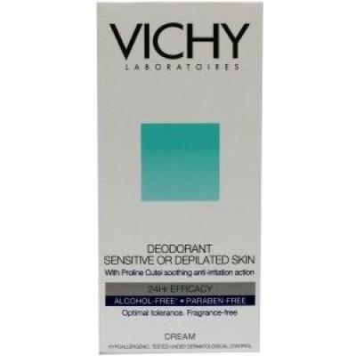 Vichy Deodorant creme gevoelige huid 24 uur bescherming