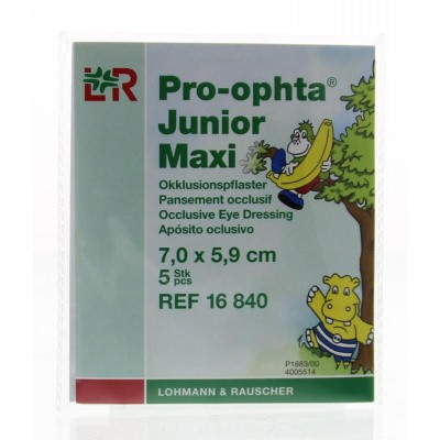 Pro Ophta Occlusiepleister maxi 7 x 5.9 cm