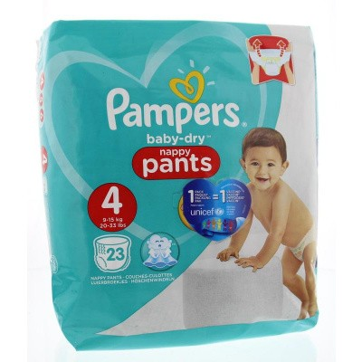 Pampers Baby dry pants maat 4