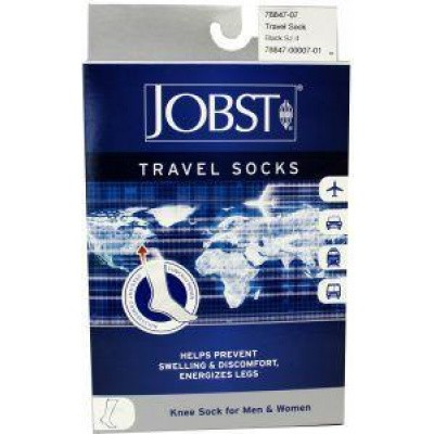 Jobst Travel socks zwart maat 4 (43-44)