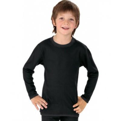 Best4body Verbandshirt kind zwart lange mouw 152