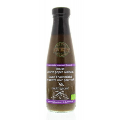 Onoff Thaise zwarte peper woksaus