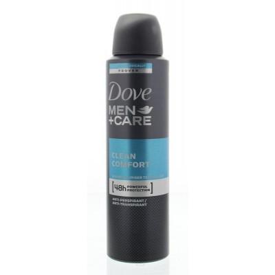 Dove Deodorant spray men clean comfort
