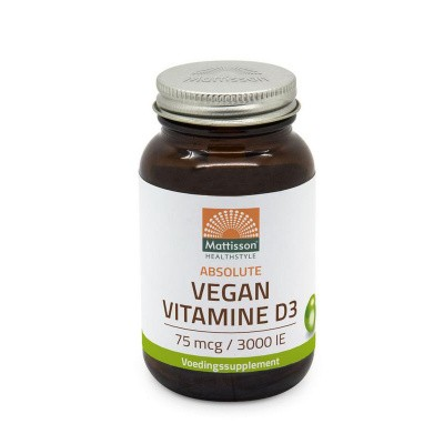 Mattisson Absolute vitamine D3 3000 IE vegan