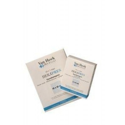 Hekapres Hydrofiel gaaskompres 10 x 20