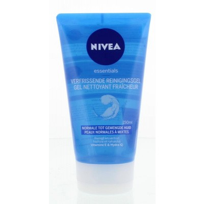 Nivea Essentials verfrissende reiniging gel norm/gem