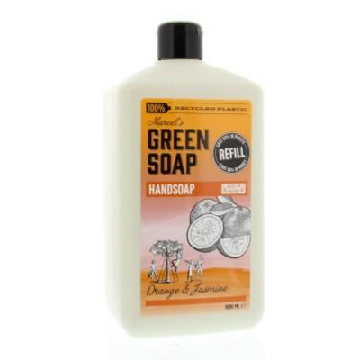 Marcel'S GR Soap Handzeep sinaasappel & jasmijn navul