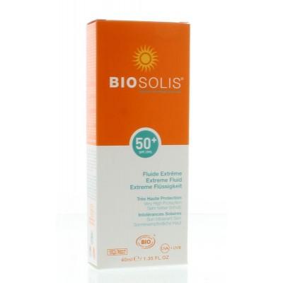 Biosolis Extreme fluid face SPF 50+