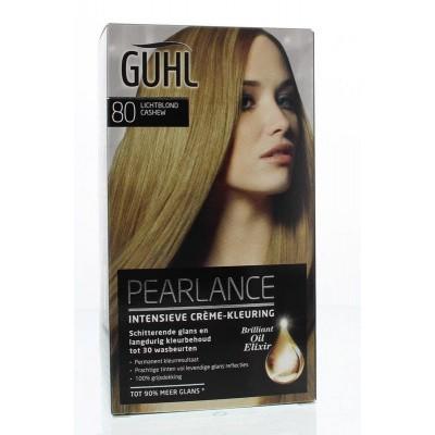 Guhl Pearlance intensieve cremekleur 80 licht blond
