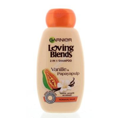 Garnier Loving blends shampoo vanilla & papaya