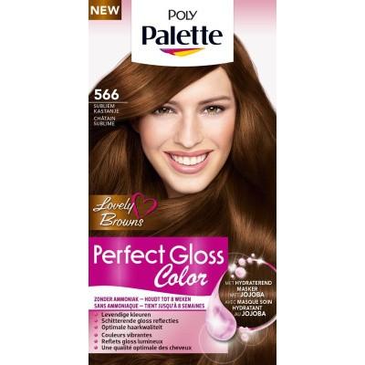 Poly Palette Perfect Gloss Haarverf 566 Subliem Kastanje