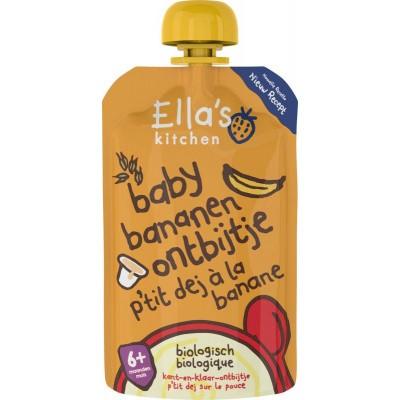 Ella's Kitchen Baby ontbijtje banaan 6+ maanden